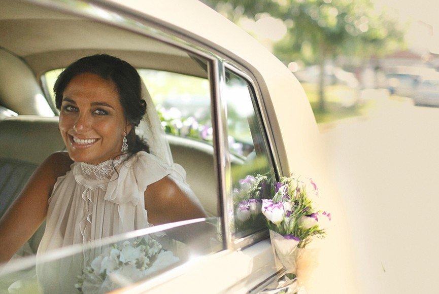 Fotografia de bodas en cenador de amos de Jesus Sanchez